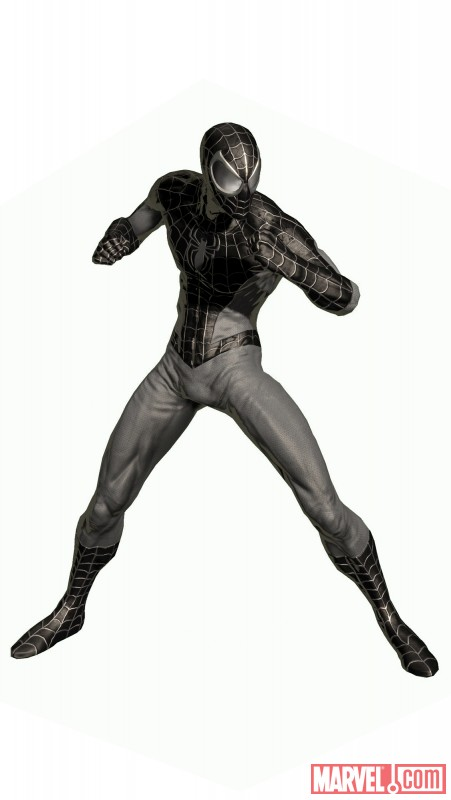Spider man noir costume