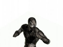 Negative Zone alternate costume for ''Spider-Man: Shattered Dimensions''