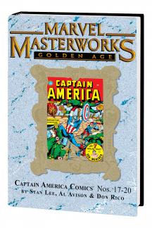 Marvel Masterworks: Golden Age Captain America Vol. 5 (Variant) (Hardcover)