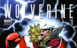 Wolverine (2010) #8, THOR HOLLYWOOD VARIANT