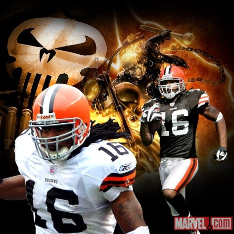 Superstars &amp; Super Heroes: The NFL's Josh Cribbs