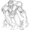 Werewolf By Night sketch by Juan Doe
