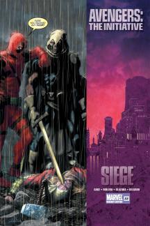 Avengers: The Initiative #33  (DEADPOOL VARIANT)
