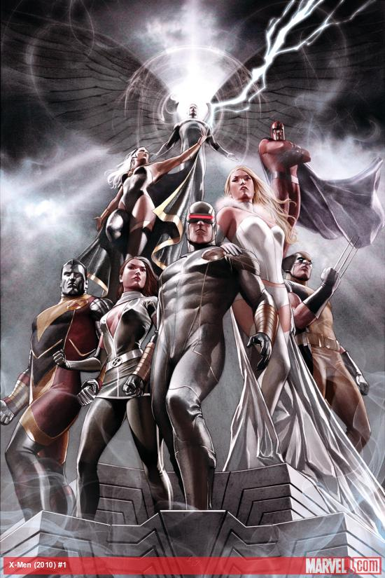 X-Men (2010) #1 cover by Adi Granov
