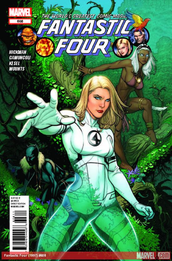 FANTASTIC FOUR 608