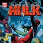 Cover from Red Hulk #9 - VARIANT
