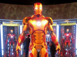 Iron Man Tech Exhibit at Disneyland