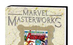 MARVEL MASTERWORKS: THE AVENGERS VOL. 13 HC VARIANT (DM ONLY)