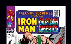 Tales of Suspense (1959) #91 Cover
