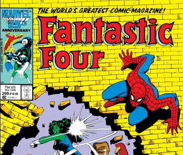 Fantastic Four (1961) #299 Cover
