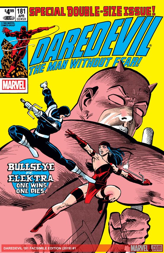 Daredevil 181 Facsimile Edition (2019) #1
