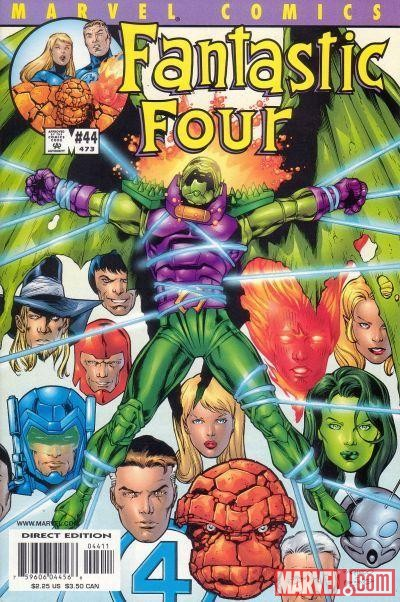 Image Featuring Annihilus, Human Torch, Invisible Woman, Mr. Fantastic, She-Hulk (Jennifer Walters)