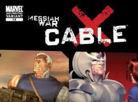 CABLE #14 SECOND PRINTING VARIANT
