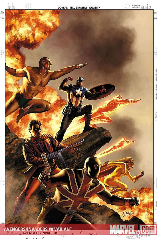 AVENGERS/INVADERS #8
