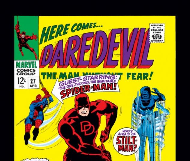 DAREDEVIL #27 COVER