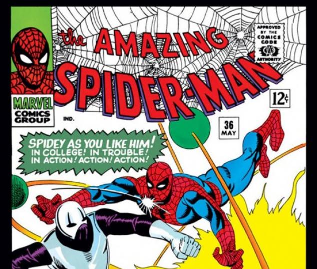 AMAZING SPIDER-MAN #36