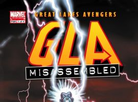 G.L.A. (2007) #1 COVER