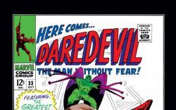 DAREDEVIL #33 COVER