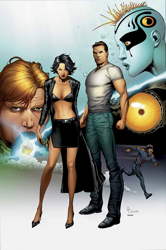 SUPREME POWER (2007) #18 COVER