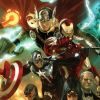 Image Featuring Avengers, Hawkeye, Iron Man, Spider-Woman (Jessica Drew), Thor, The Winter Soldier
