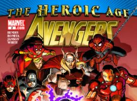AVENGERS #2 cover by John Romita Jr.