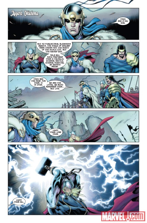 THOR #611 preview art by Richard Elson