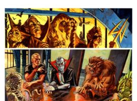 Image Featuring Werewolf By Night, Morbius