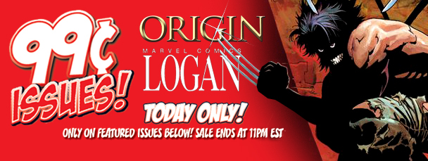 Marvel App: Get Origin and Logan Issues for 99¢