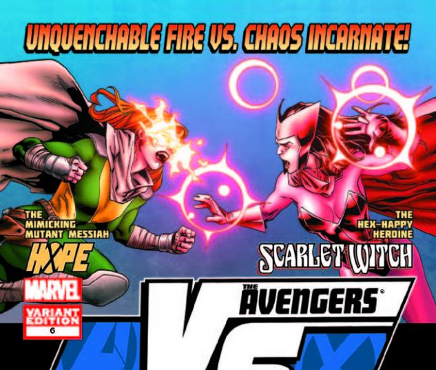 AVX: VS 6 FIGHT POSTER VARIANT (1 FOR 20, AVX, WITH DIGITAL CODE)