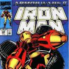 Iron Man #258 cover