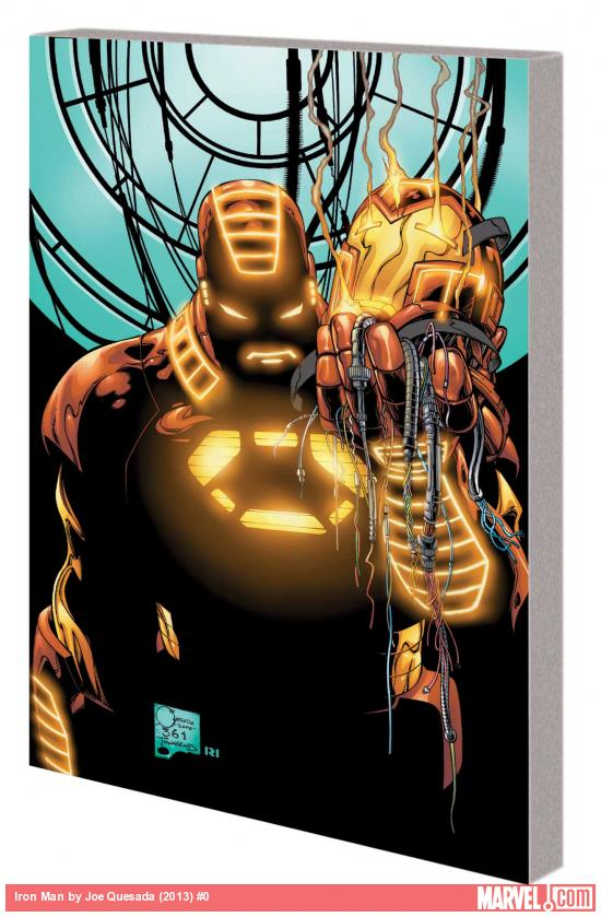 IRON MAN BY JOE QUESADA TPB