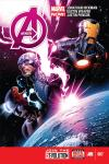 cover from Avengers (2012) #7