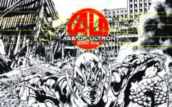 AGE OF ULTRON 1 HITCH SKETCH VARIANT (1 FOR 100, WITH DIGITAL CODE)