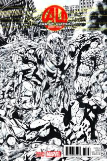 AGE OF ULTRON (2013) #1 (Hitch Sketch Variant)