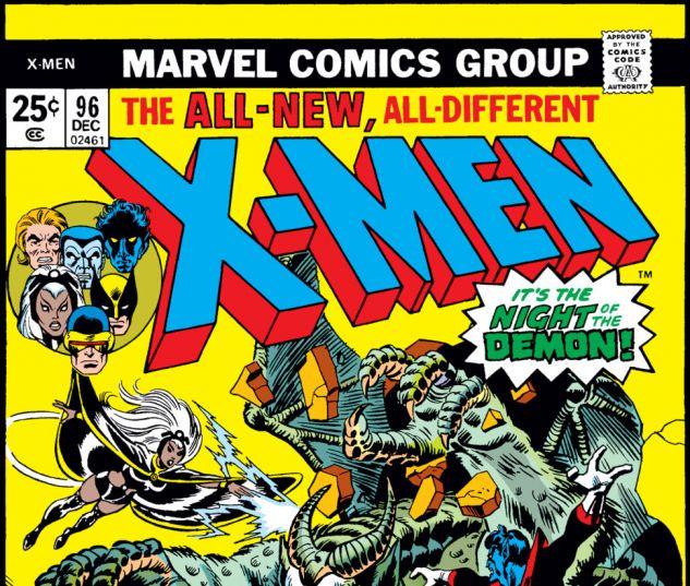 Uncanny X-Men (1963) #96 Cover