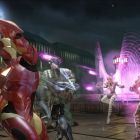 Iron Man and Songbird in \'\'Marvel: Ultimate Alliance 2\'\'