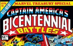 Marvel Treasury Special Featuring Captain America's Bicentennial Battles #1