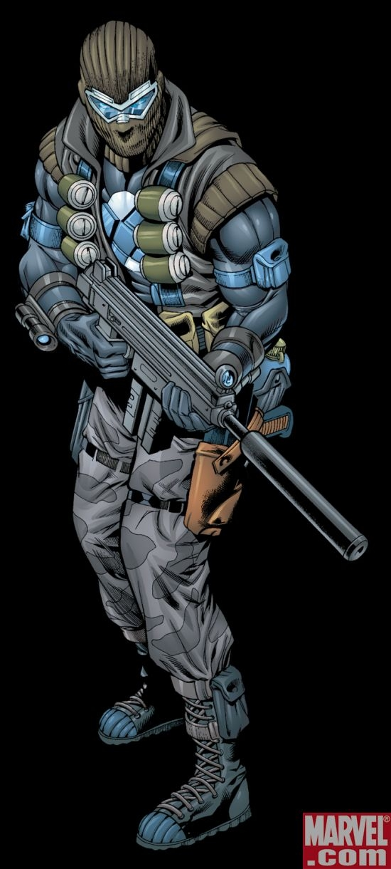 Agent Zero from the comics