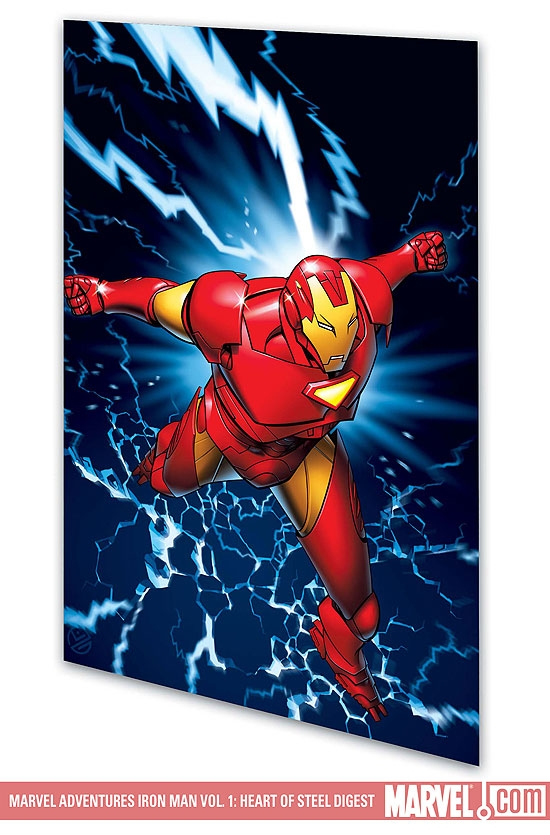 MARVEL ADVENTURES IRON MAN VOL. 1: HEART OF STEEL #0