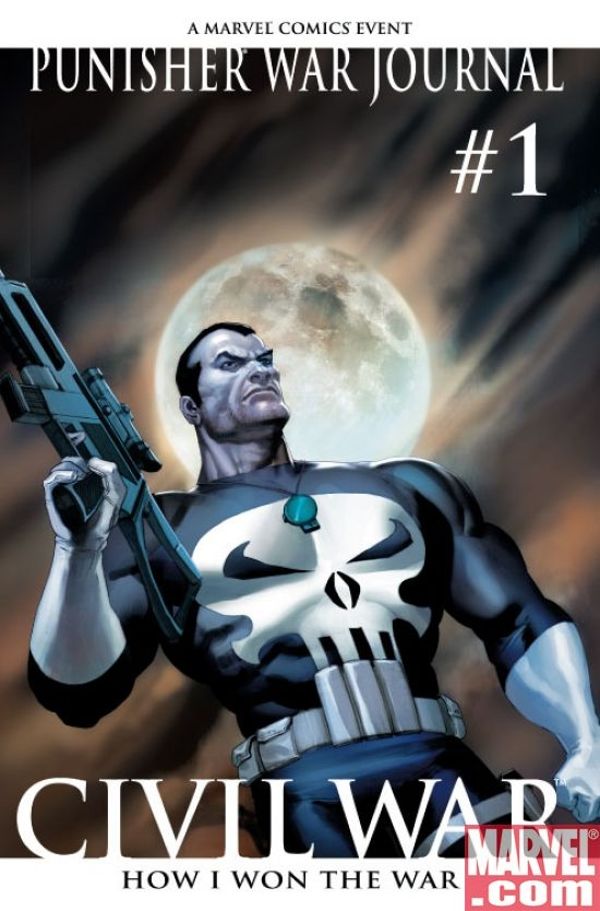 Punisher War Journal #1 2nd printing