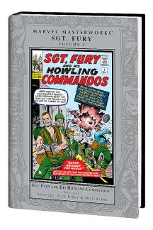 Marvel Masterworks: Sgt. Fury Vol. (Hardcover)