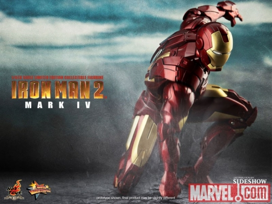 Iron Man Mark IV 12-inch Figure: Iron Man 2