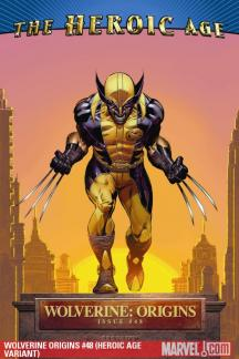 Wolverine Origins (2006) #48 (HEROIC AGE VARIANT)