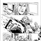 VALKYRIE #1 black and white preview art by Phil Winslade 7