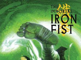 IMMORTAL IRON FIST (2008) #1 (DIRECTOR'S CUT) COVER