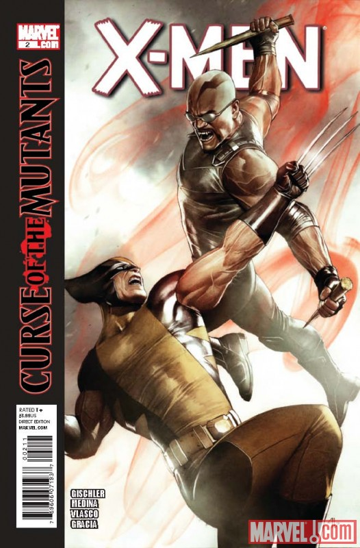 X-Men (2010) #2 cover by Adi Granov
