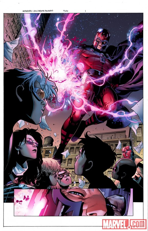 AVENGERS: THE CHILDREN'S CRUSADE #2 preview art by Jim Cheung 1