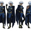 Final color art for Storm from the X-Men Anime series