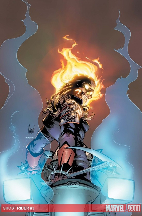 Ghost Rider #3 Cover