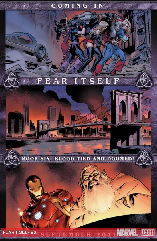Fear Itself #6 Teaser by Stuart Immonen